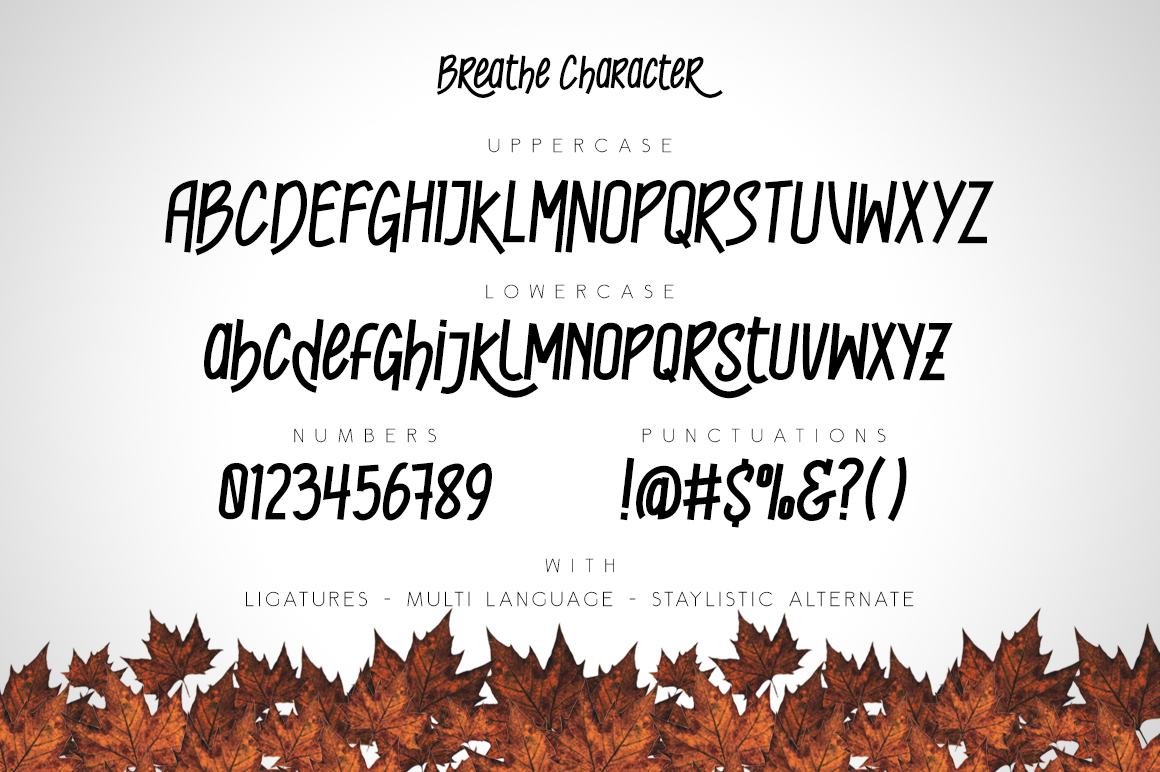 Breathe Typeface example image 4