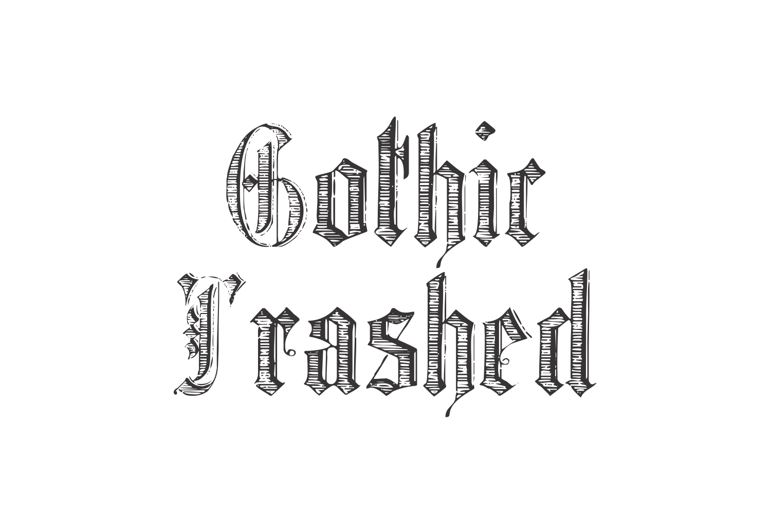 GothicTrashed example image 1