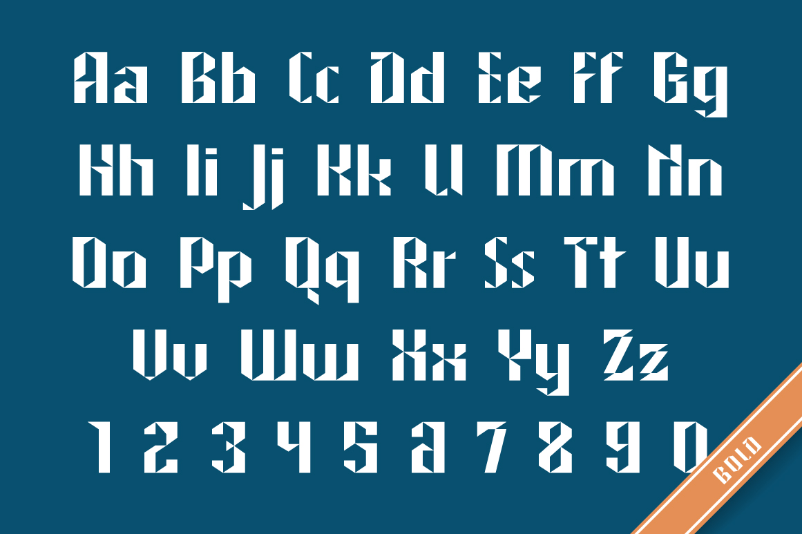 NORTH STAR typeface example image 7
