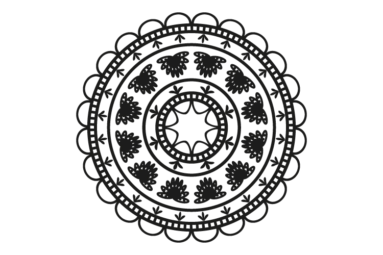 Mandalas. Round forms. example image 16
