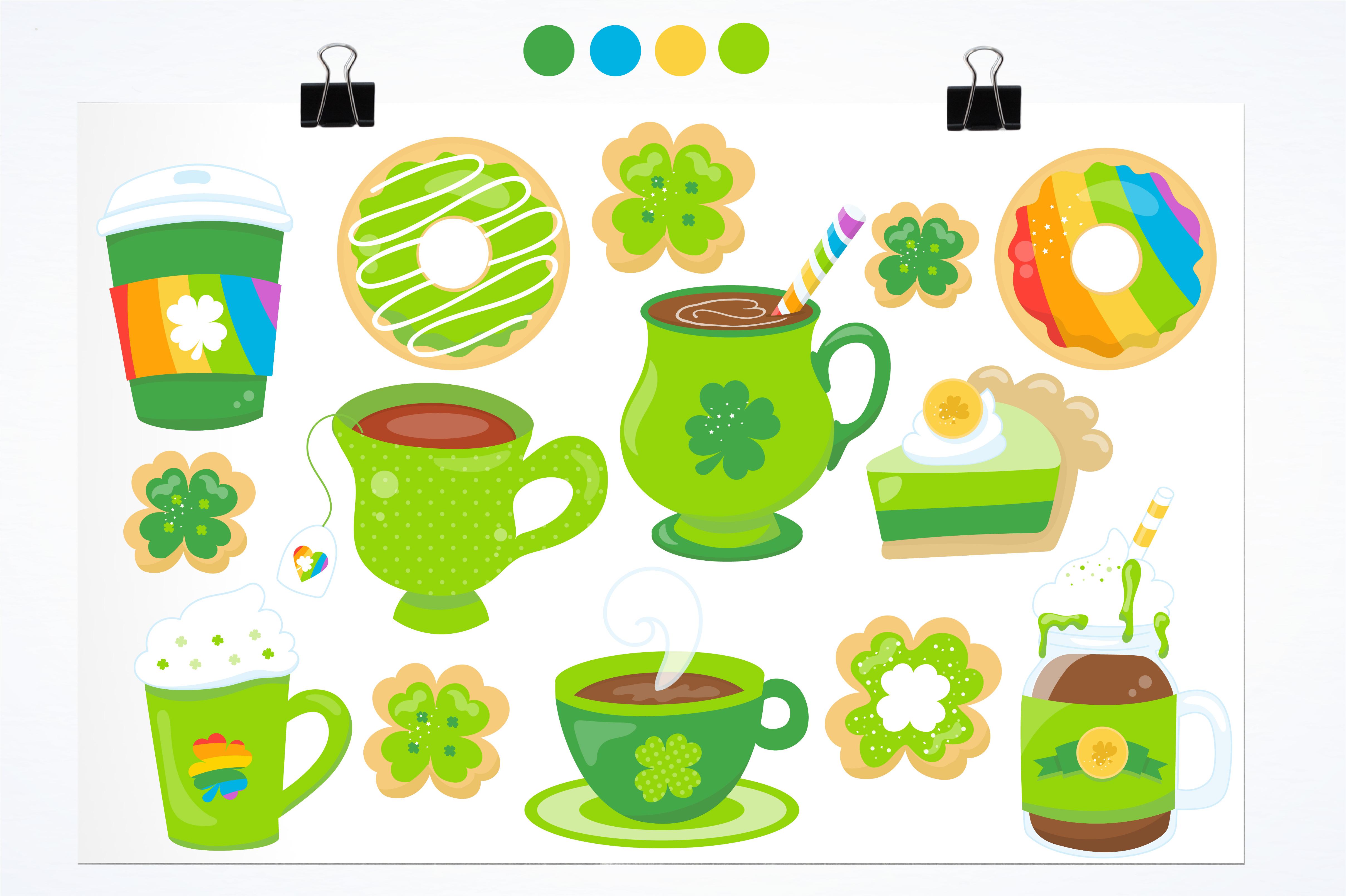 Irish coffee graphics and illustrations example image 5