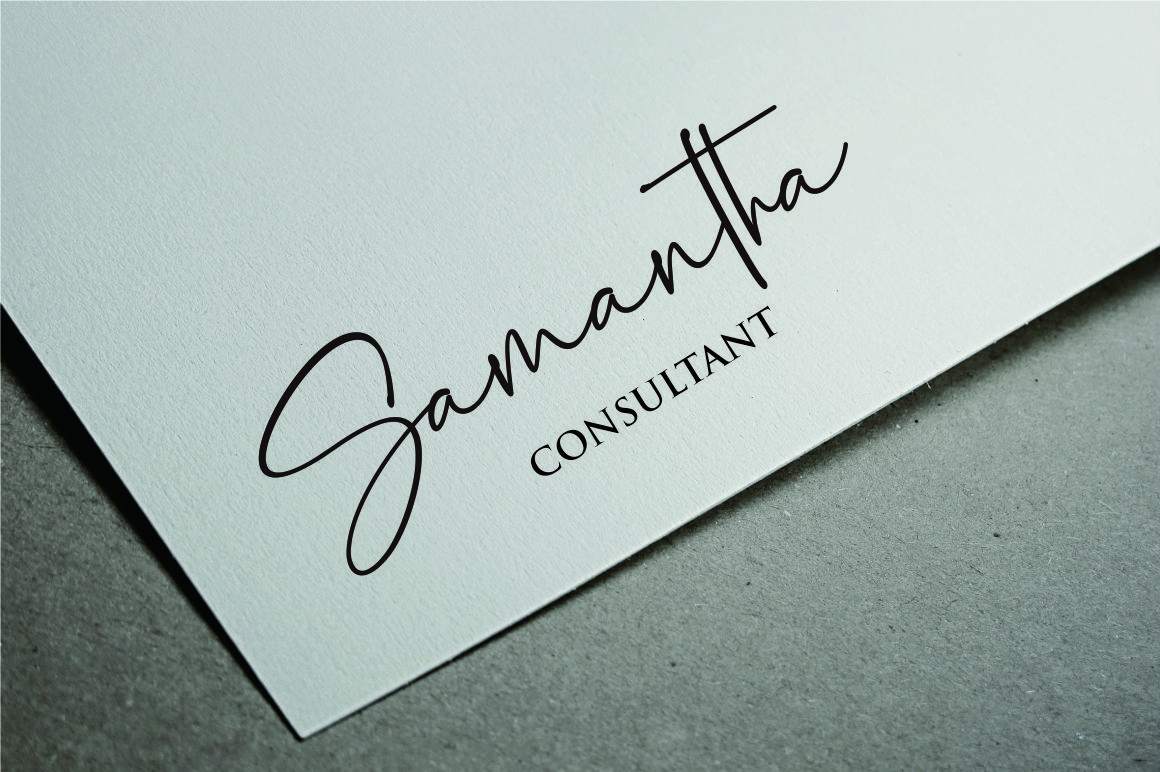 Palmaton - Handwritten font example image 5