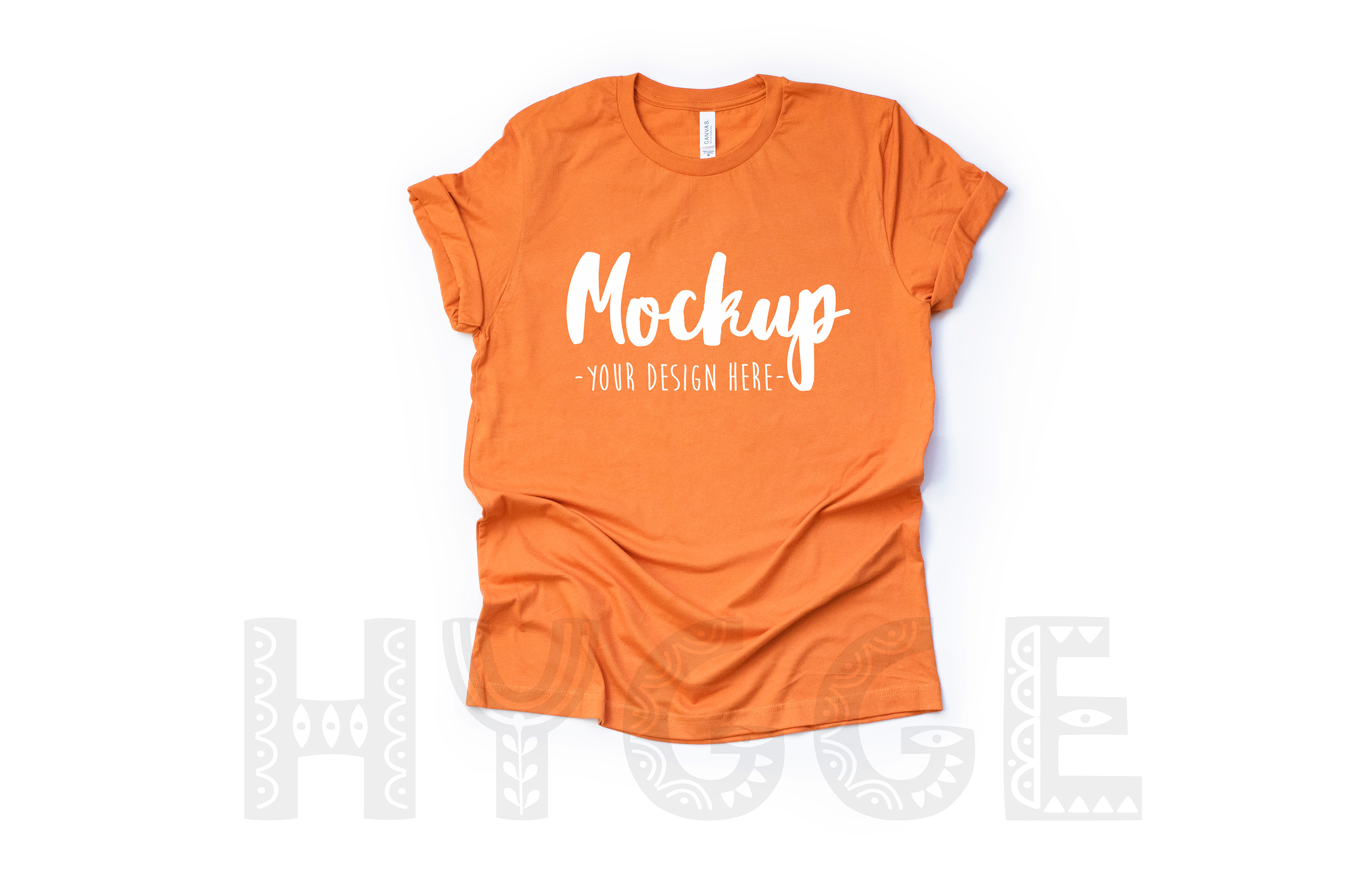 Tshirt Mockup Bundle Bella Canvas 3001 Basic tshirt mockups example image 12