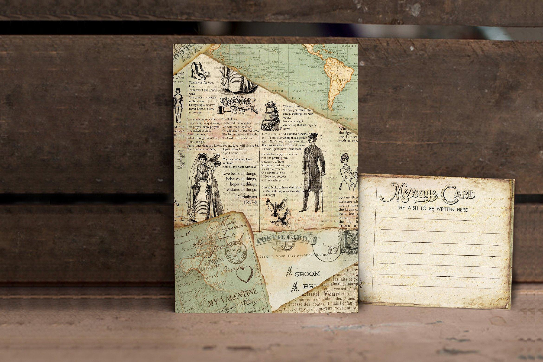 Vintage Journey Wedding Invitation example image 3