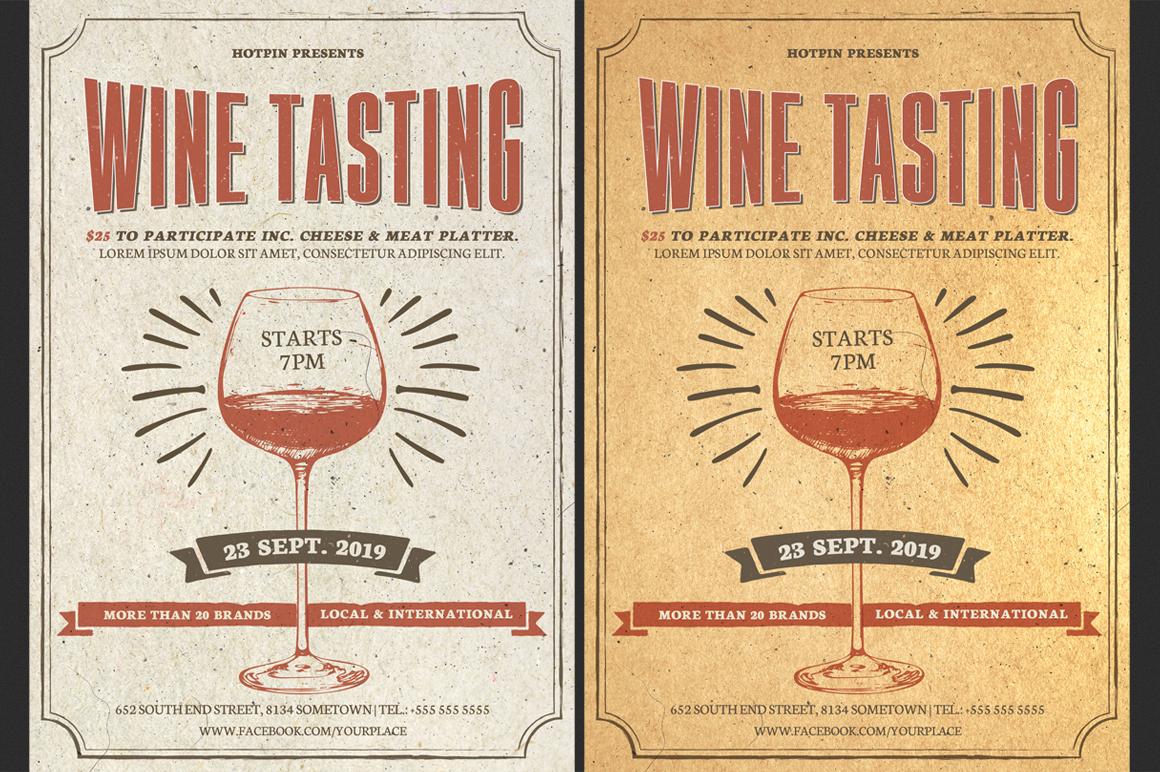 Wine Tasting Flyer example image 1