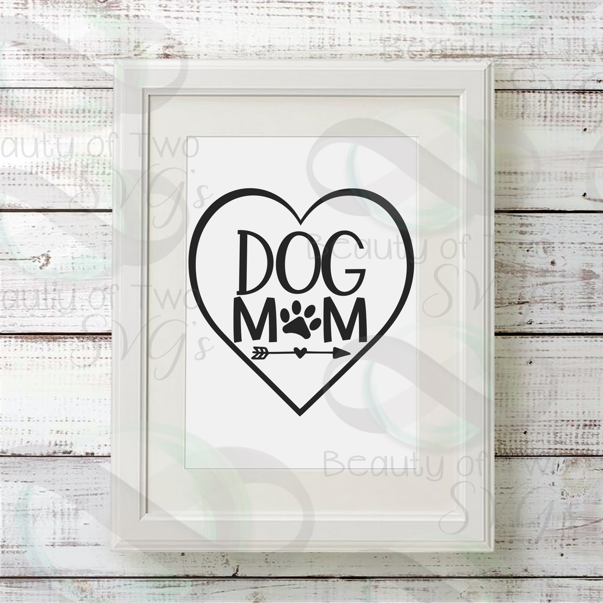 Dog Mom svg, Mothers Day dog svg, love my dog svg, dog svg example image 3