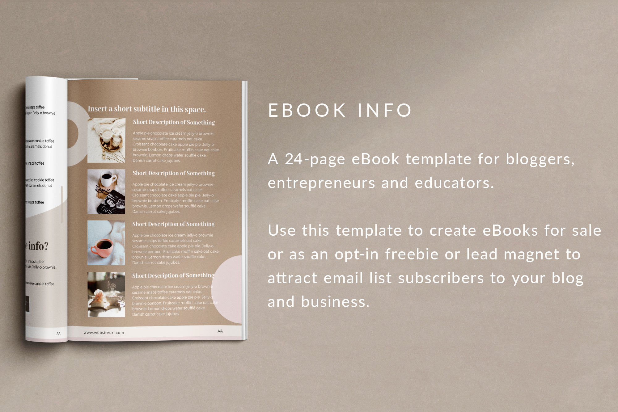 eBook or Lead Magnet Canva Template | Nordic example image 7
