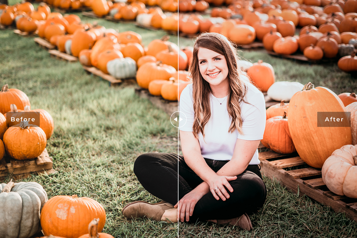 Pumpkin Mobile & Desktop Lightroom Presets example image 4