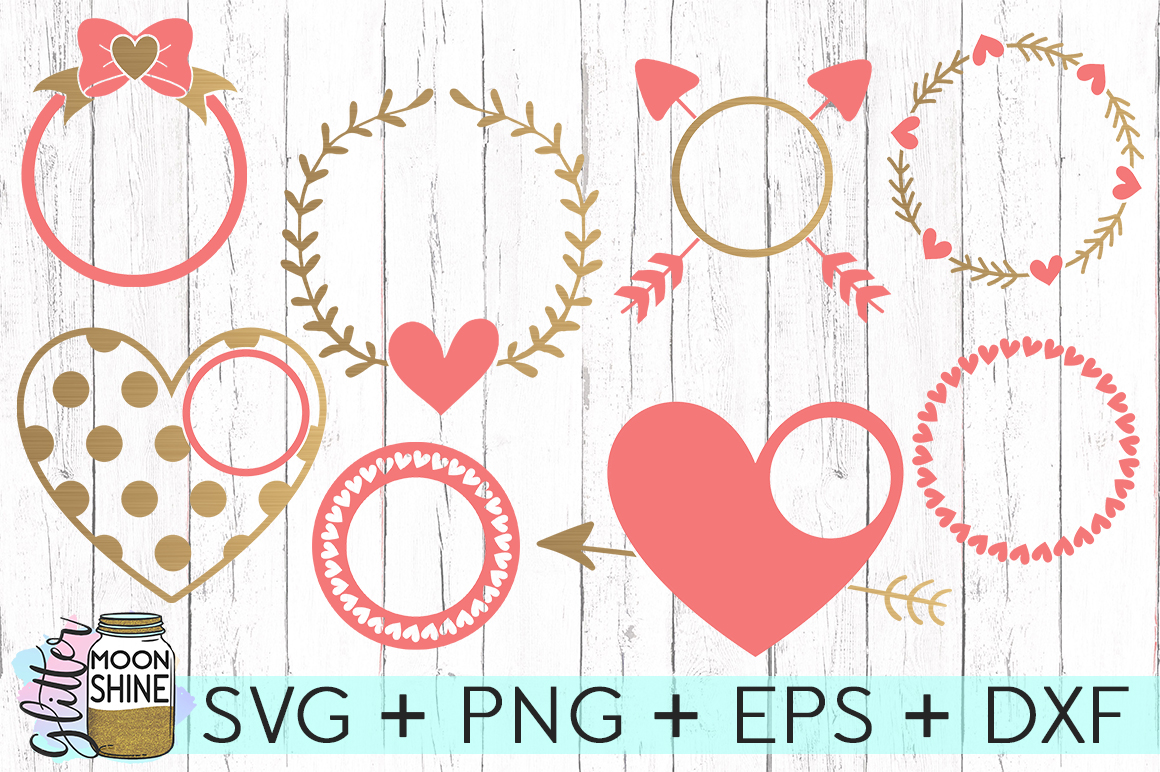 HUGE Valentine's Day Bundle SVG DXF PNG EPS Cutting Files example image 2