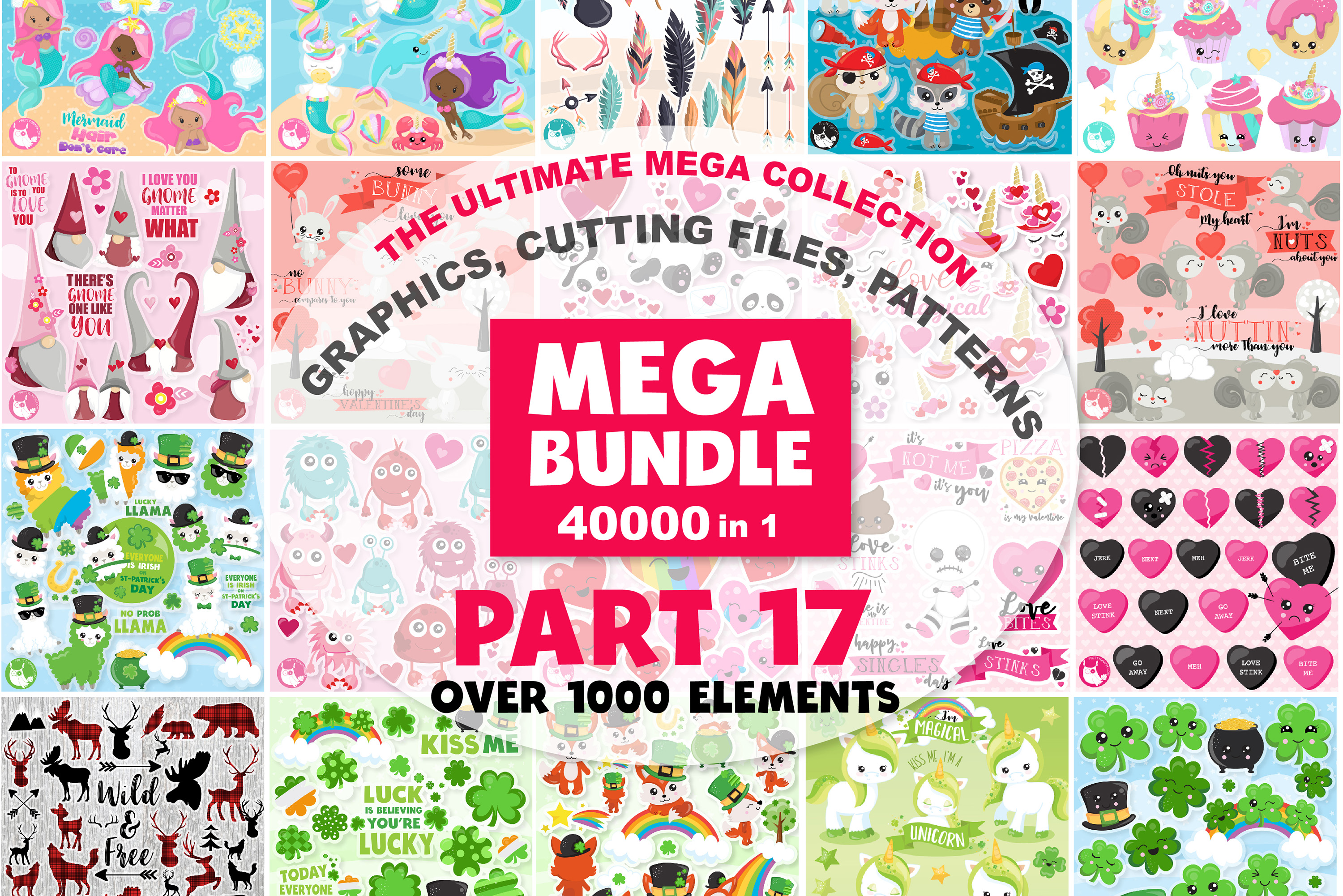 MEGA BUNDLE PART17 - 40000 in 1 Full Collection example image 1