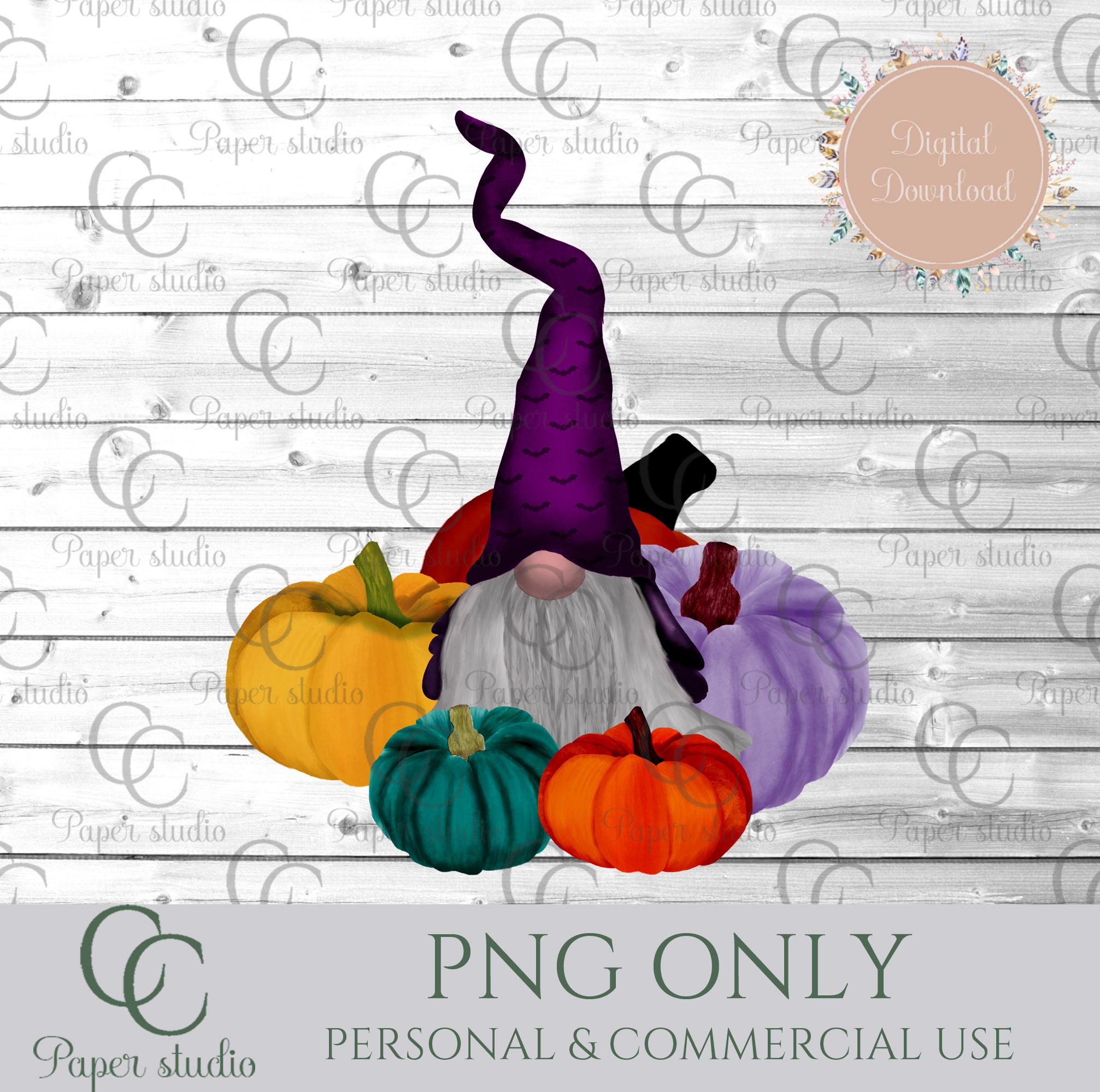 Scandinavian Tomte Gnomes - Halloween pumpkin example image 2