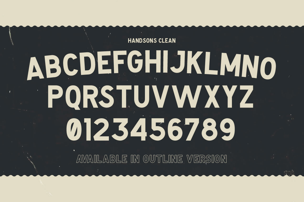 Handsons Typeface example image 2