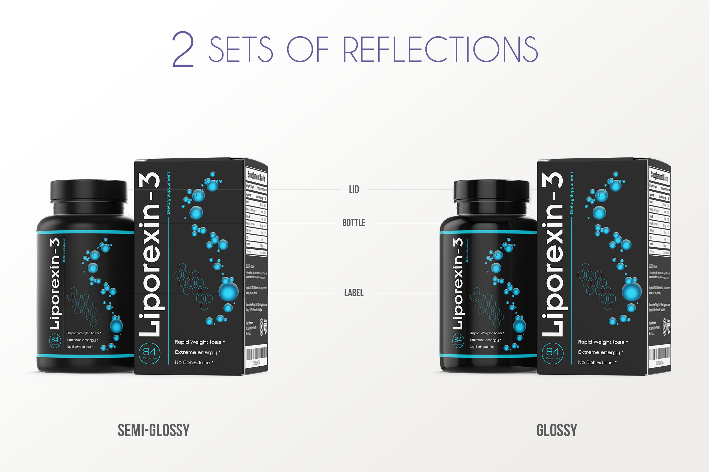Dietary Supplement Mockup v. 1C example image 4