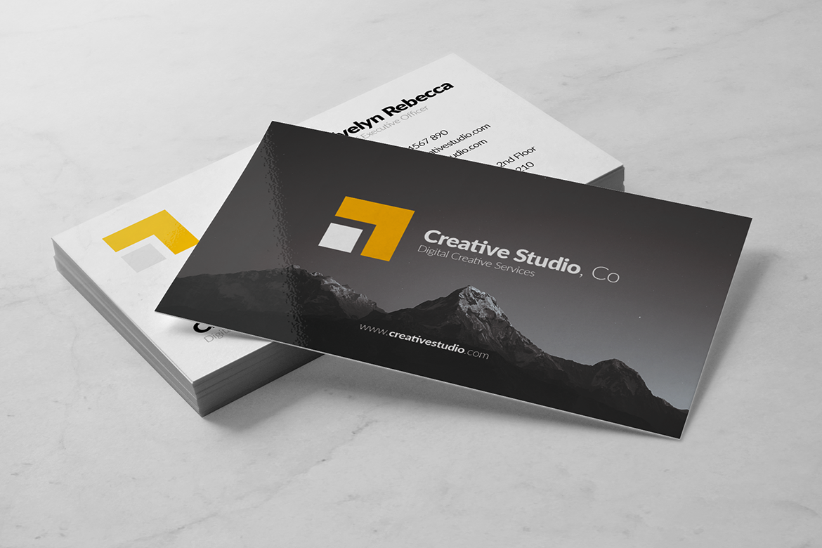 Minimalist Business Card Vol. 01 example image 4