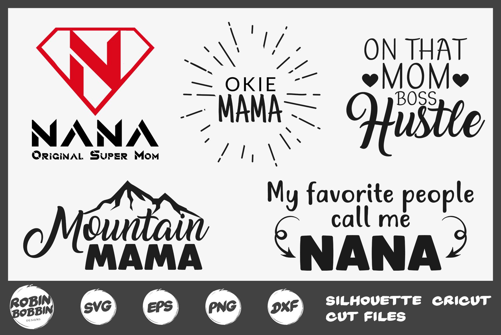 Mother's Day Bundle svg, Mom Life Bundle, Big Mother Bundle example image 7