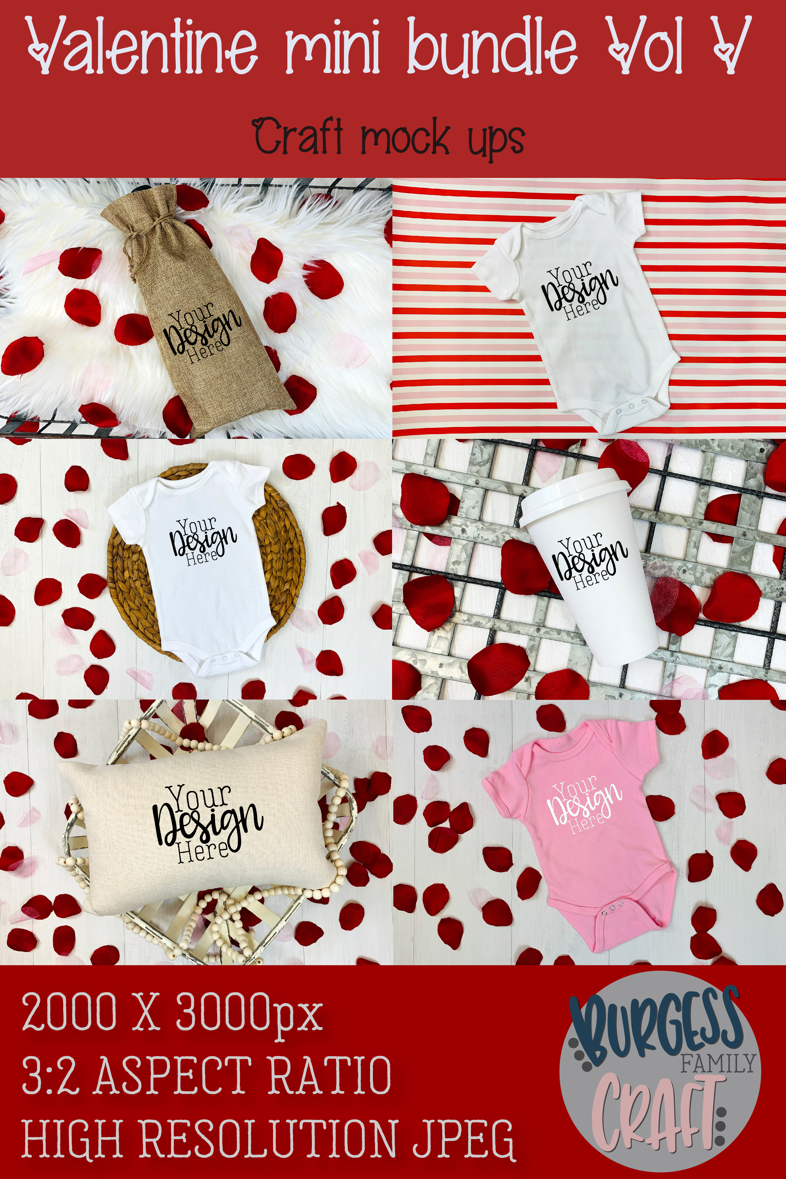 Valentine Mini Bundle Vol V example image 8