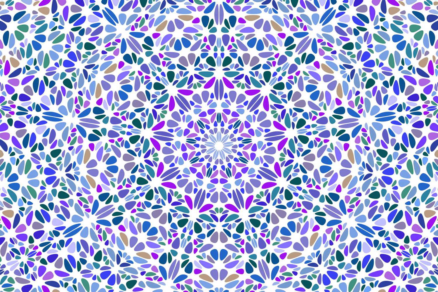 48 Floral Mandala Backgrounds example image 9