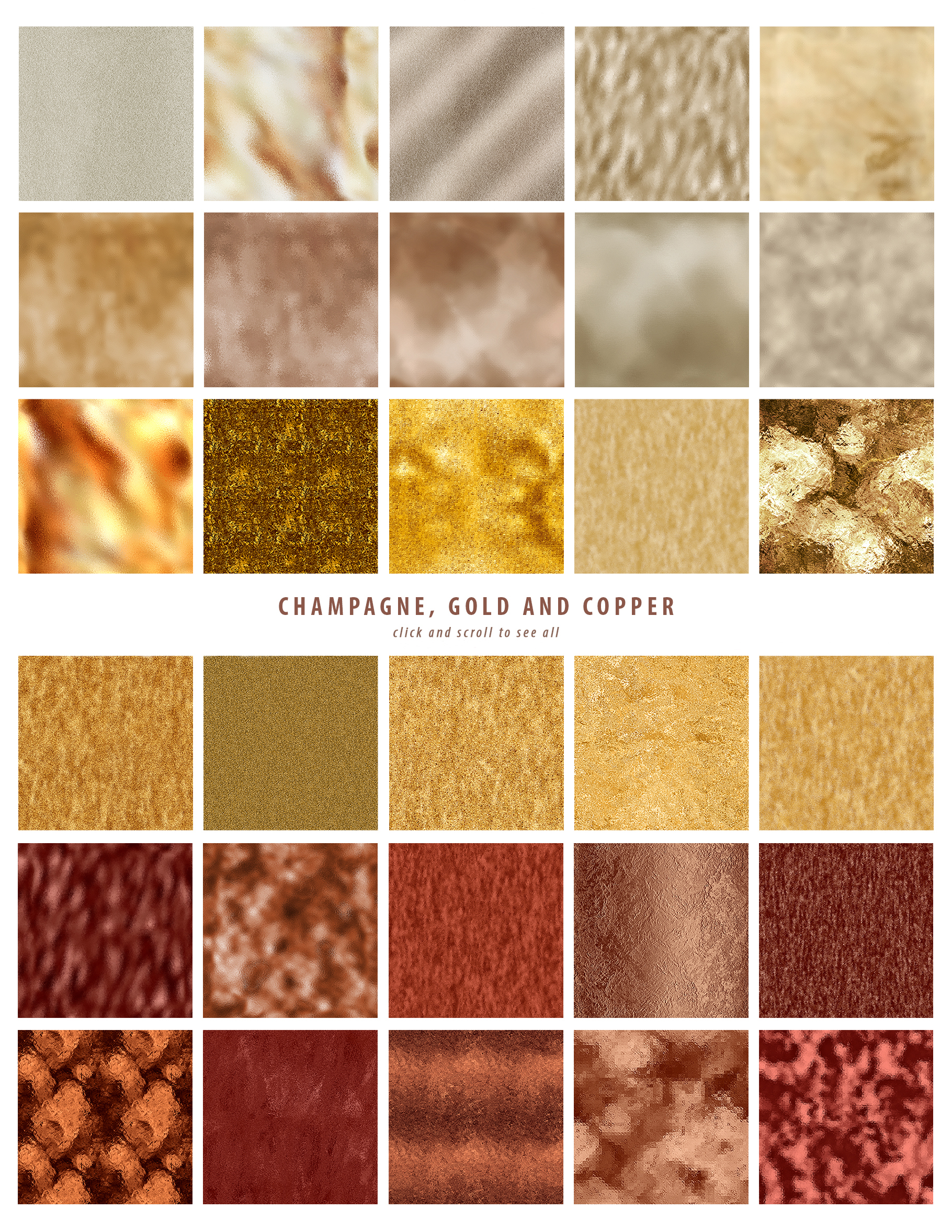 Luxe - 200 Textures and Patterns - Foil, Glitter, Marble example image 21