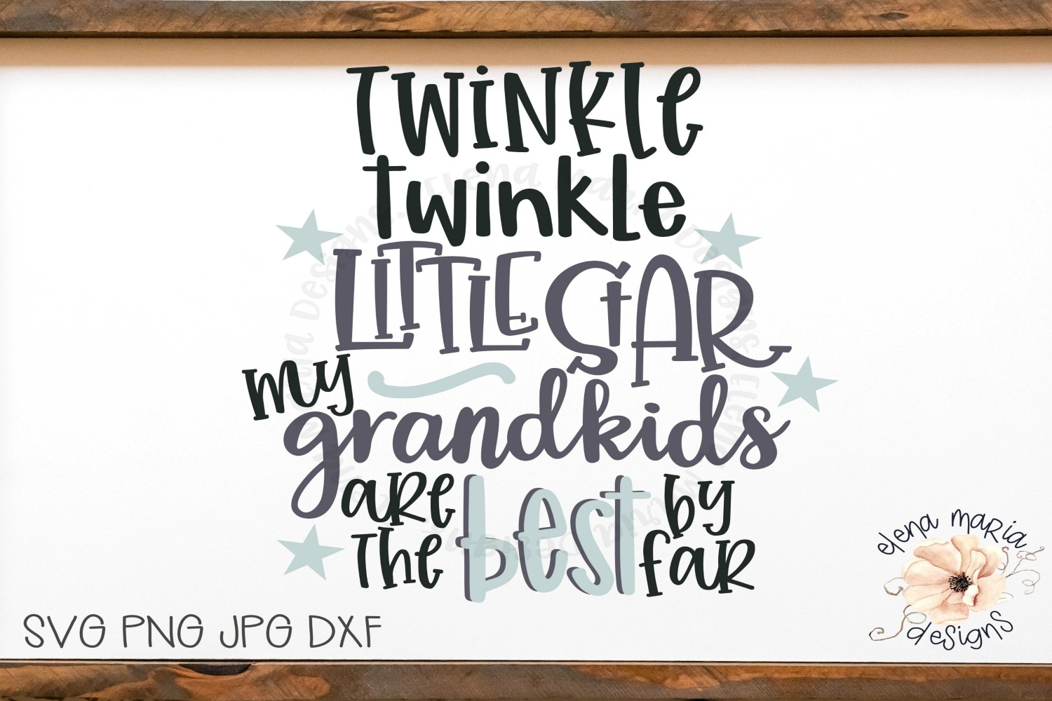 Grandma | Grandkids Svg Files and Cut Files For Crafting example image 2