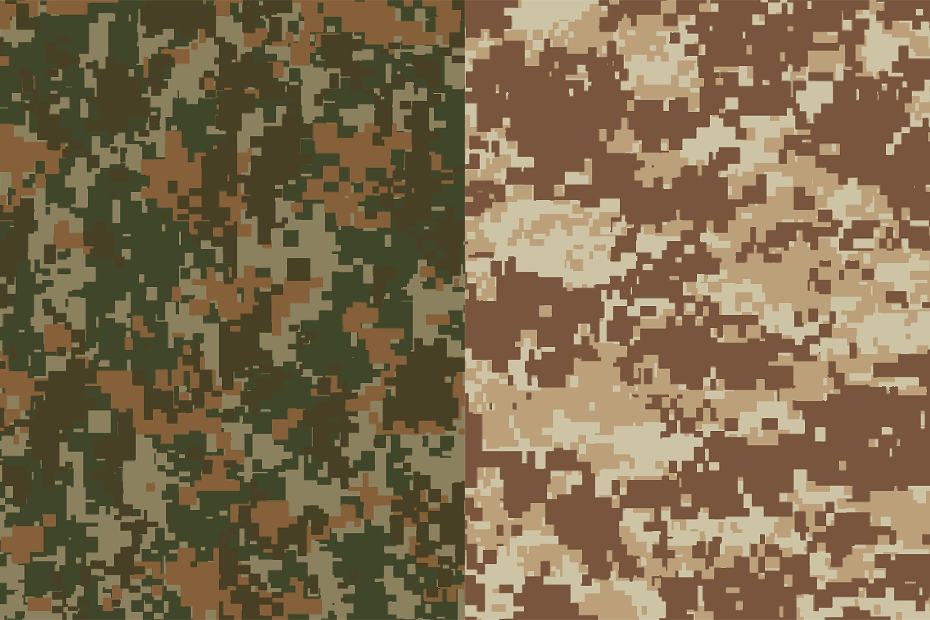 10 Pixel Camouflage Patterns example image 6