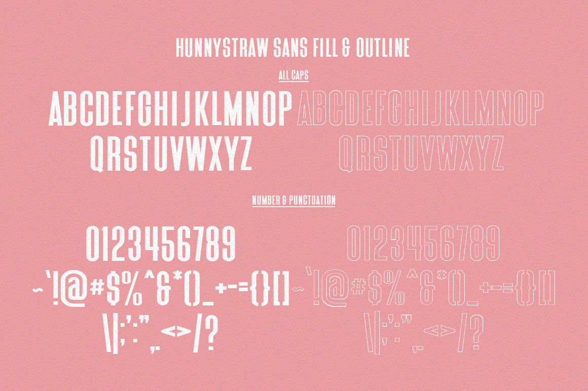 Hunny Straw Font Collection example image 10