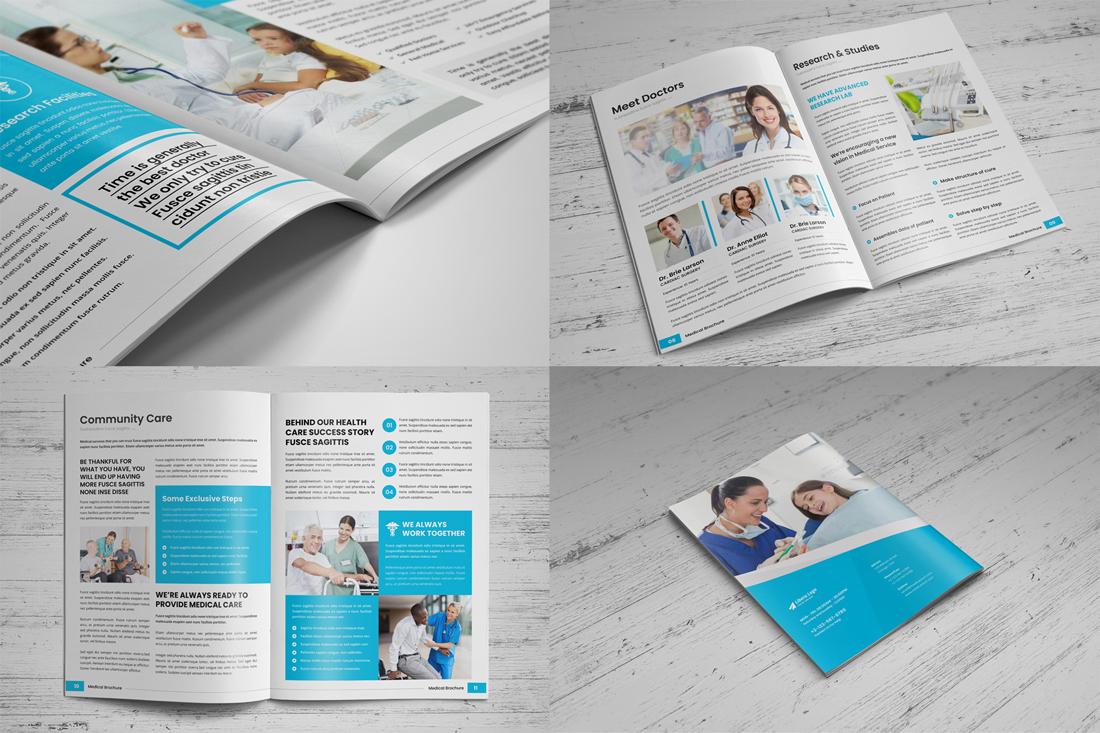 Medical HealthCare Brochure Bundle example image 13