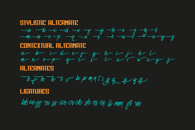 Henshin Font Duo example image 9