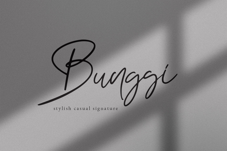 Bunggi Signatures example image 1