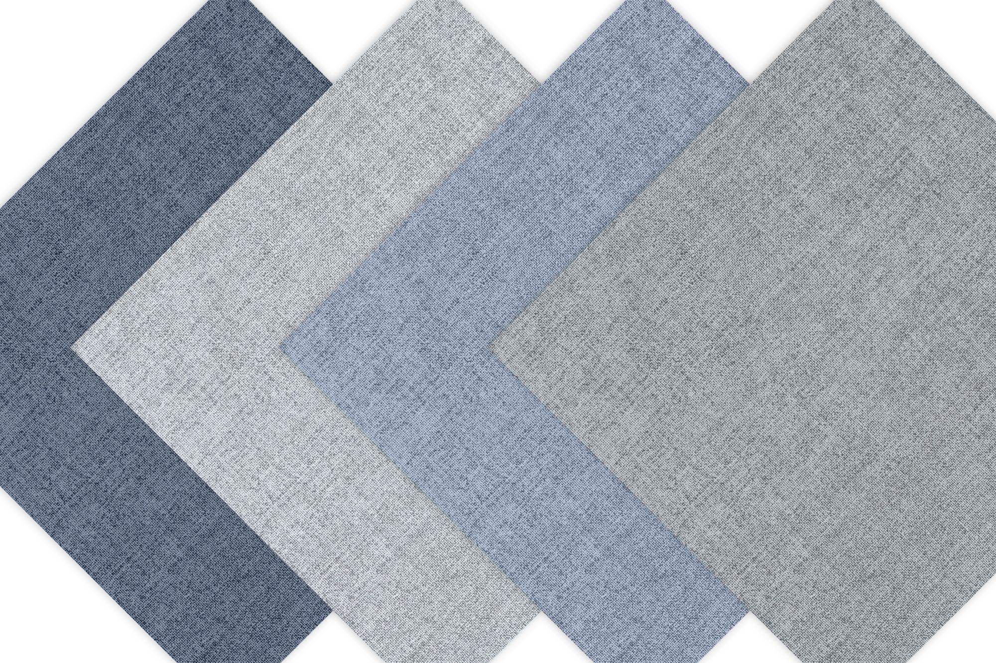 Linen Texture - Cool Hues Digital Paper example image 3
