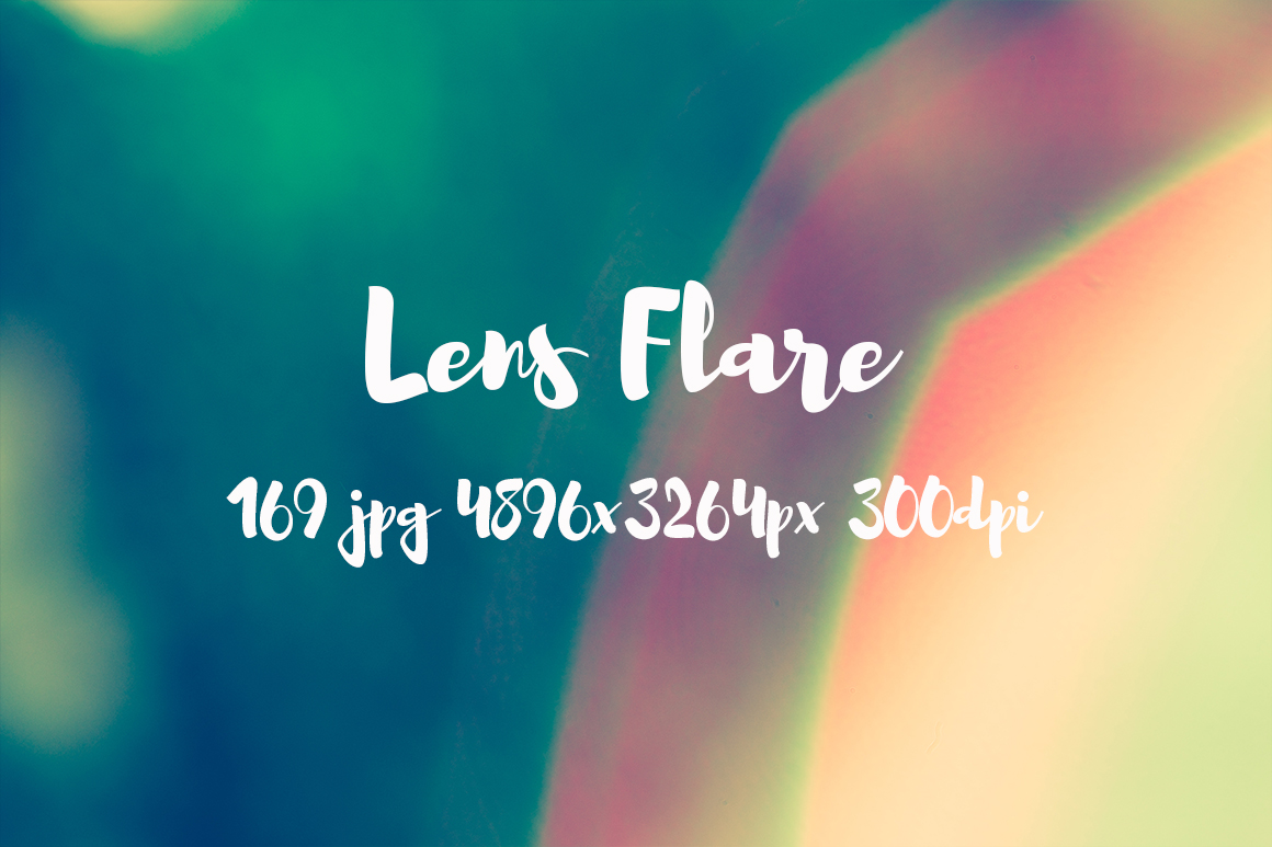 Lens Flare Pack example image 26