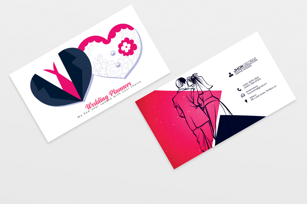 Wedding Planner's Business Card example image 2