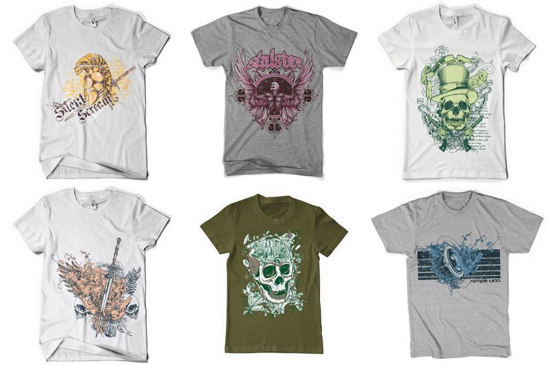 100 T-shirt Designs Vol 2 example image 14