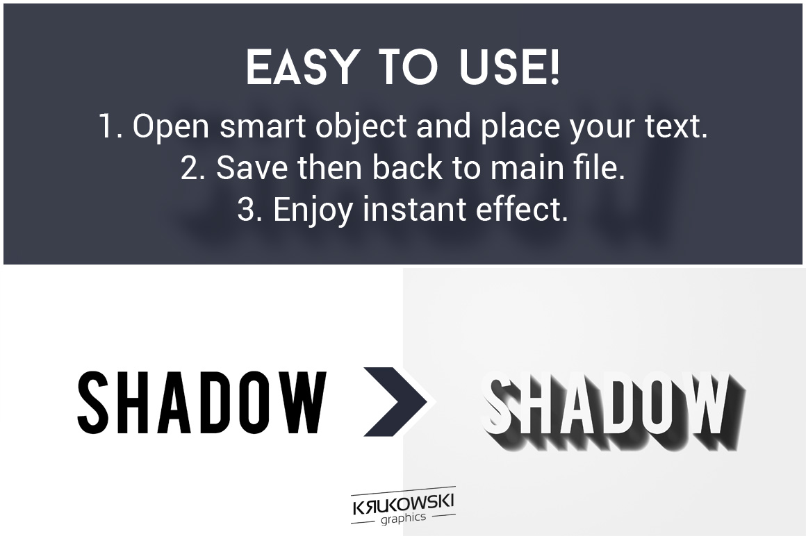 Shadow Text Effect Mockup example image 2