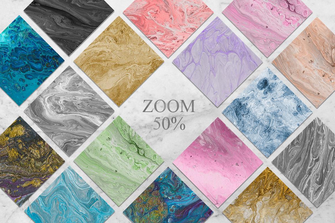 108 Flow Liquid Textures example image 2