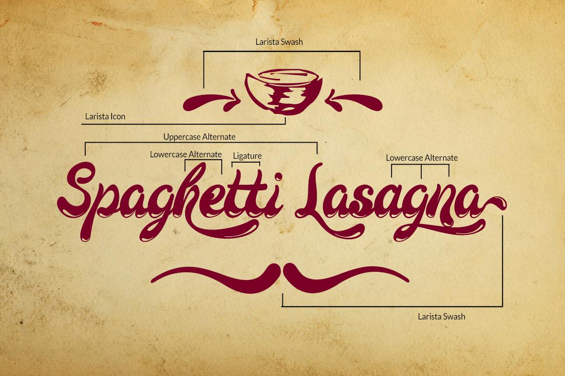 Larista Script example image 7