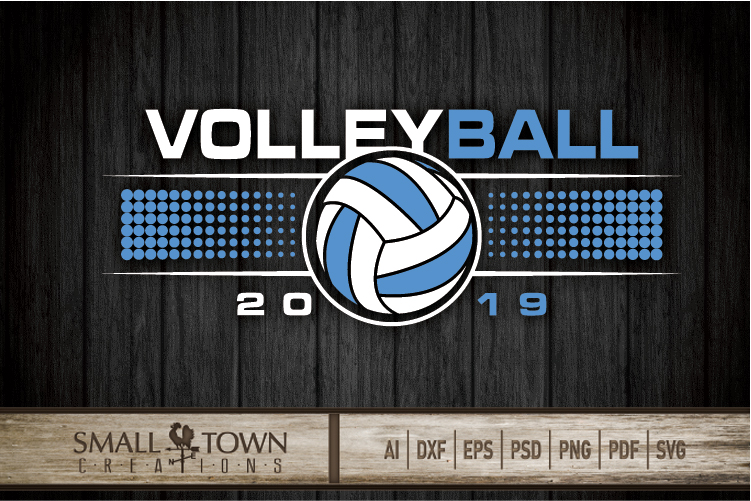 Volleyball, Volleyball ball, Sport logo, PRINT, CUT & DESIGN example image 5