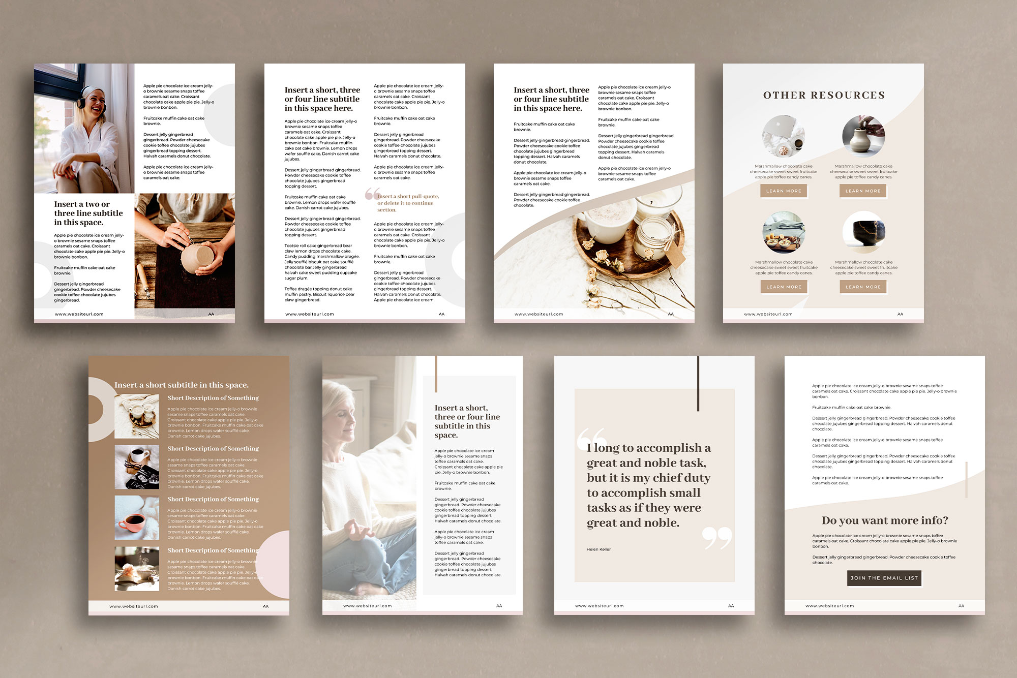 eBook or Lead Magnet Canva Template | Nordic example image 4