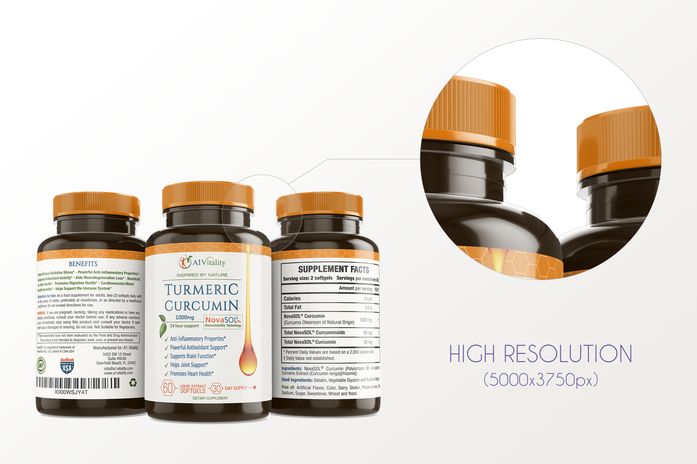 Dietary Supplement Mockup v. 1B example image 6