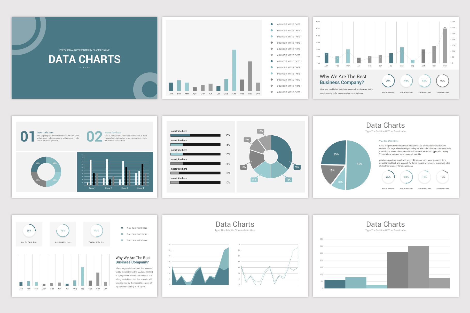 Simplicity PowerPoint Template example image 21