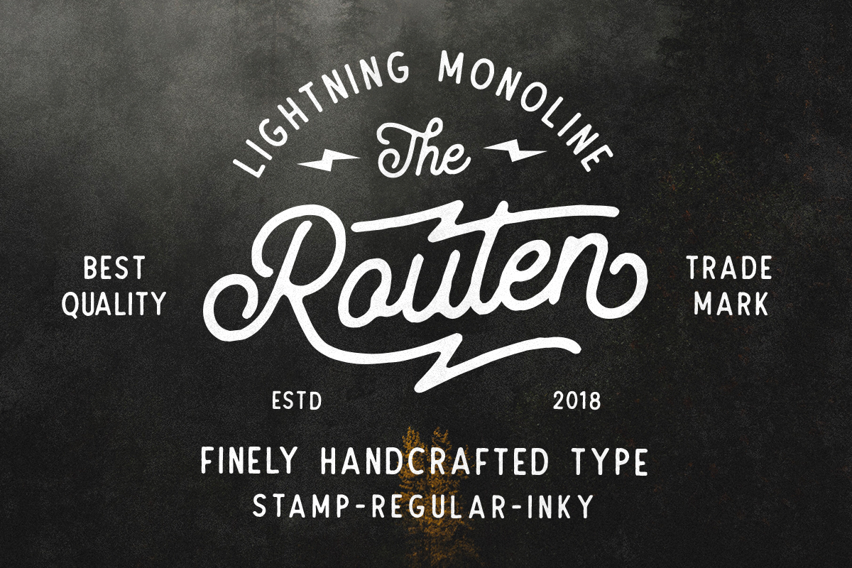 Routen Lightning Monoline 40%OFF! example image 2
