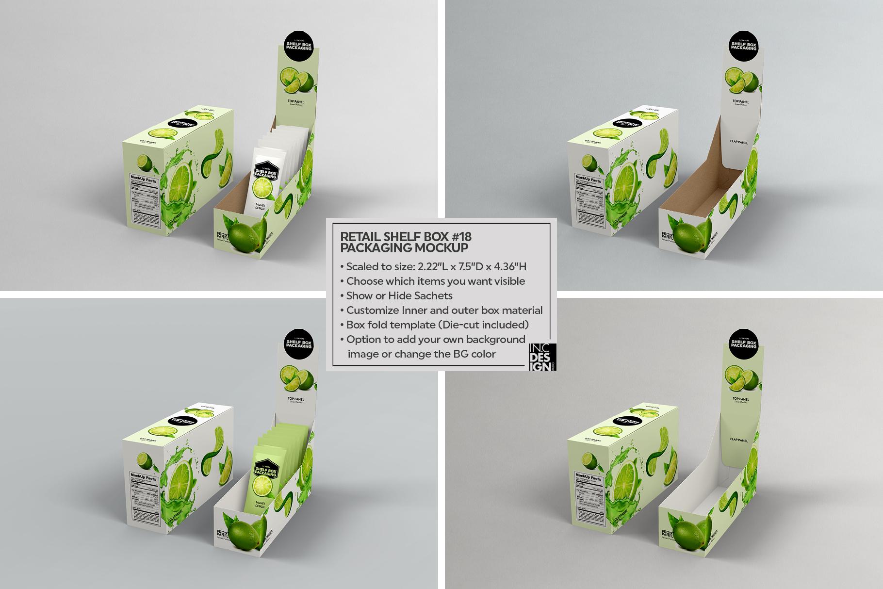 Shelf Box Packaging Volume 4 example image 11