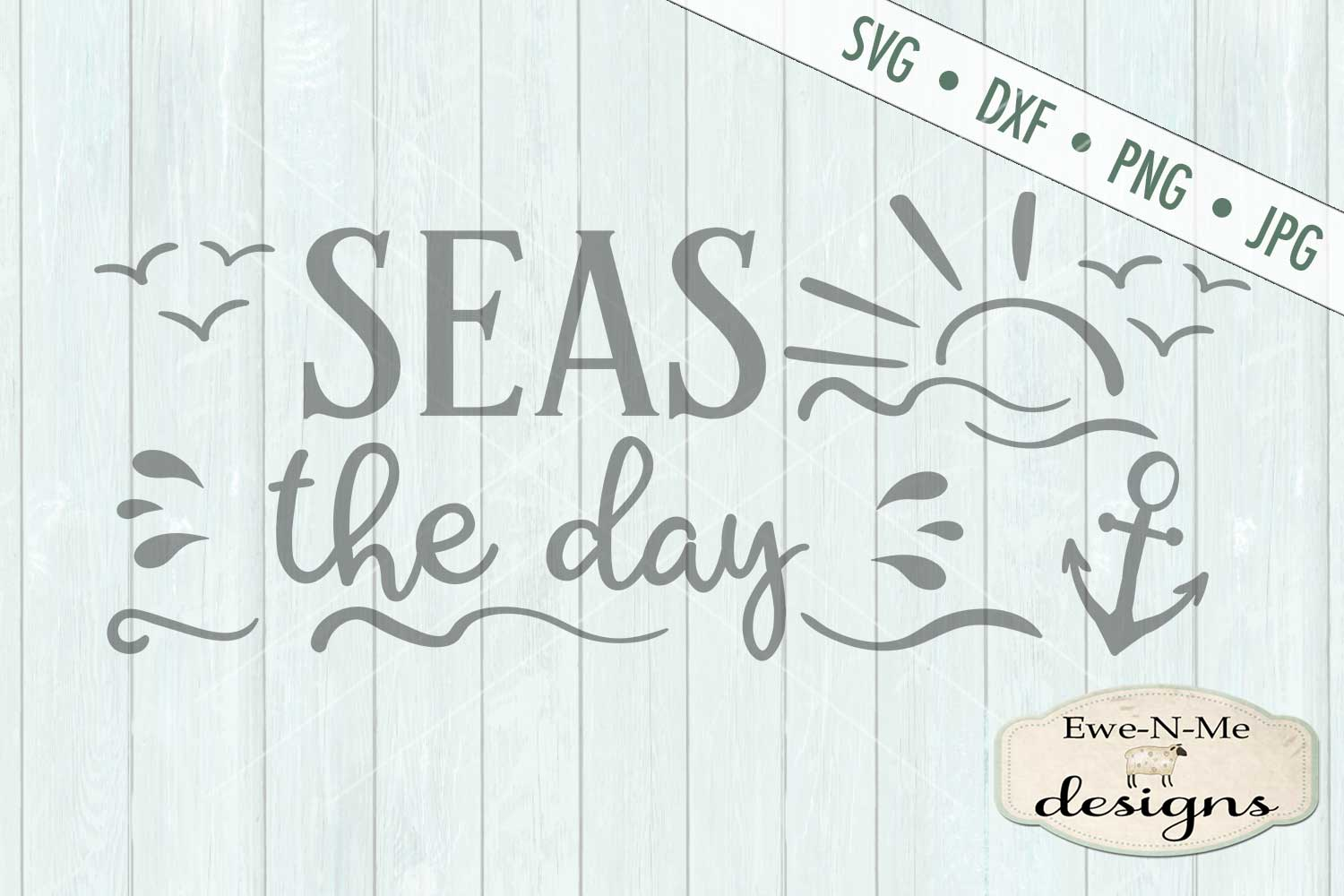 Seas The Day SVG DXF Files example image 2