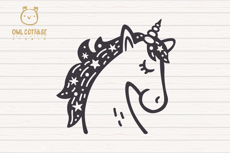 Valentine Unicorn Svg, Be My Unicorn Cut File, Valentines Da example image 5