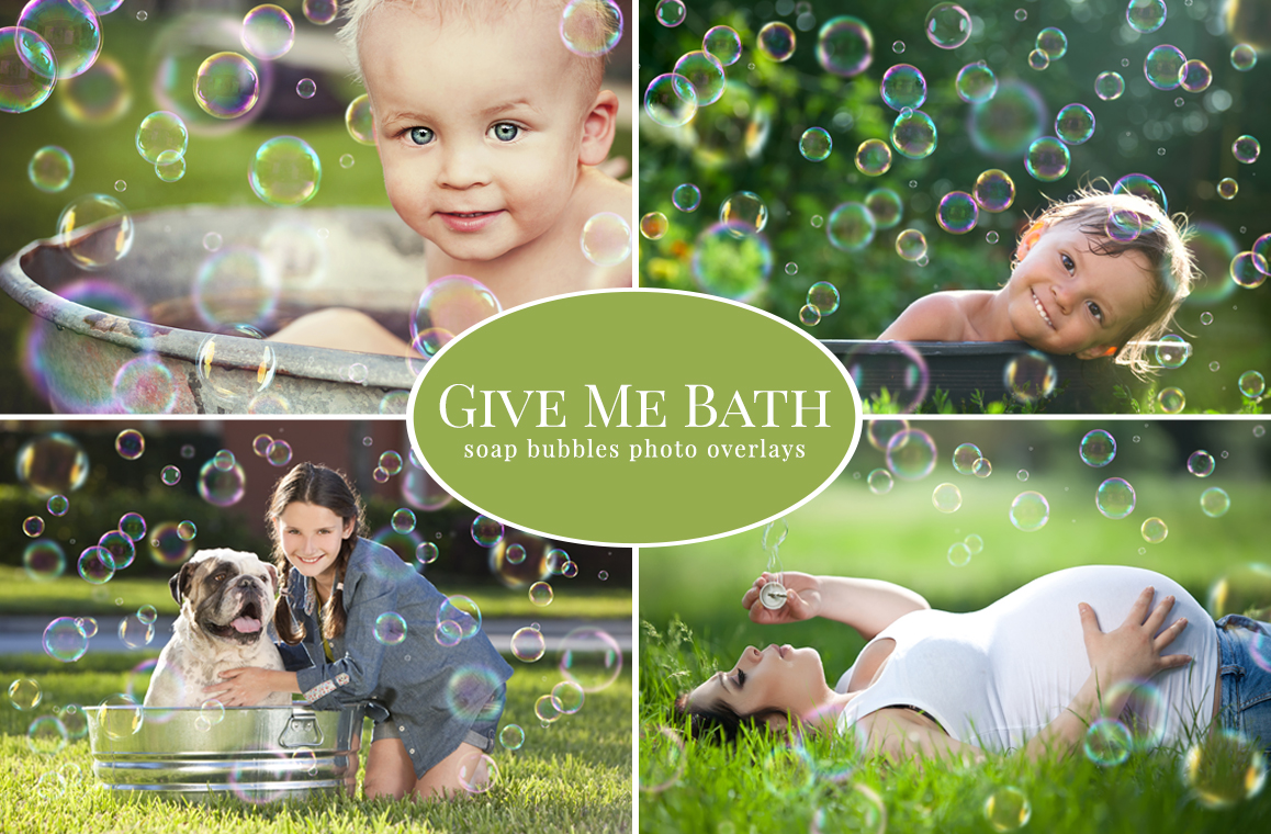 Give Me Bath - bubbles overlays example image 4