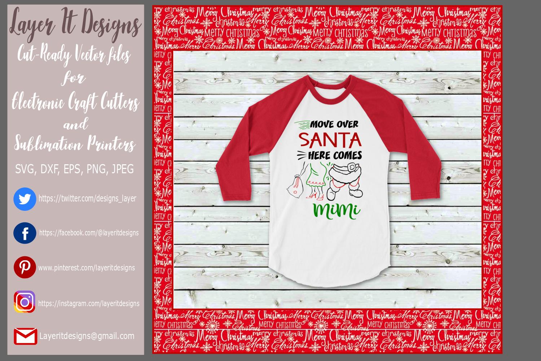 Move Over Santa Design File example image 2