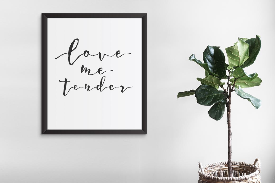 A Romantic font - Dear June example image 2