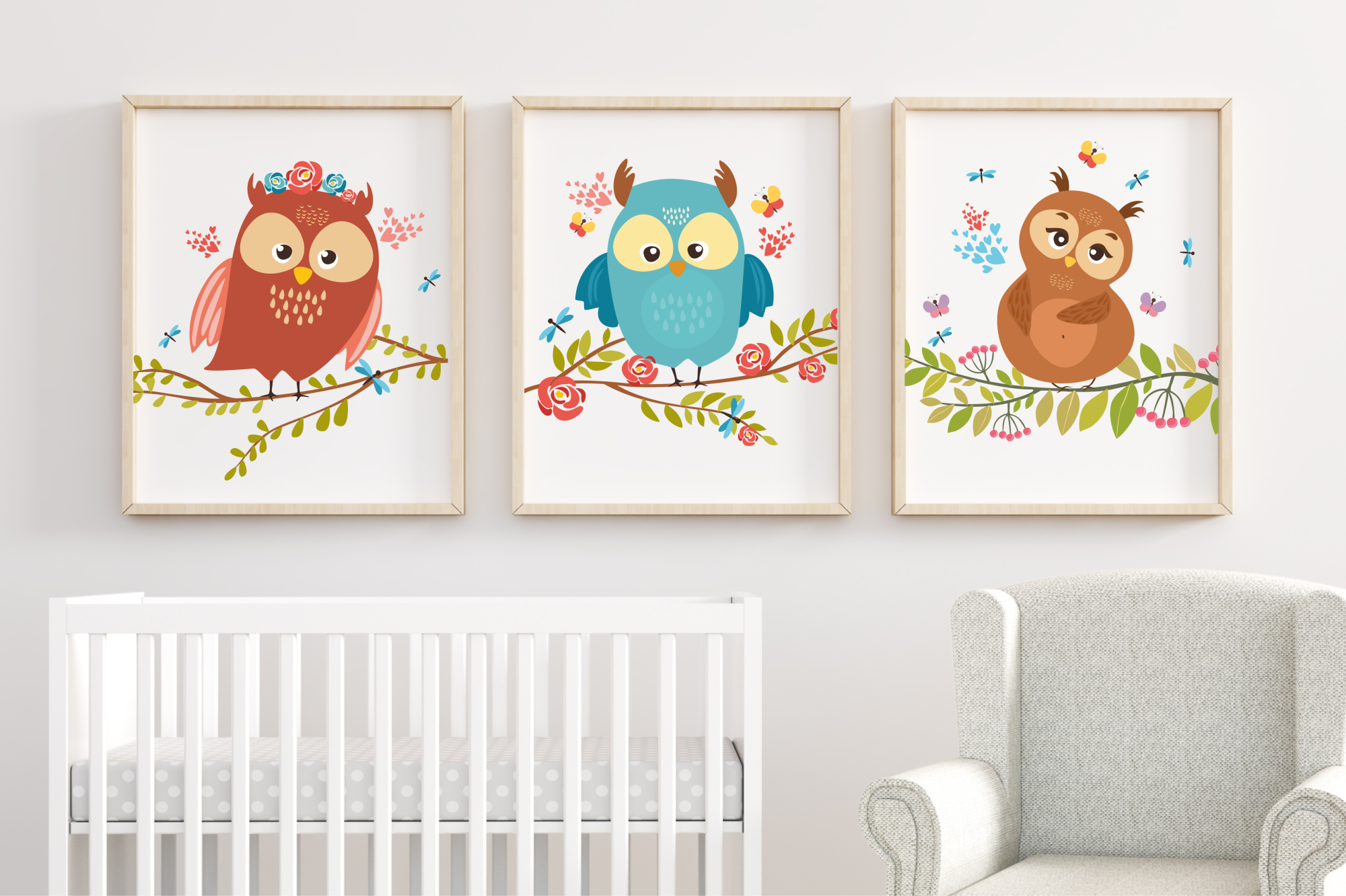 Charming Owls  example image 5