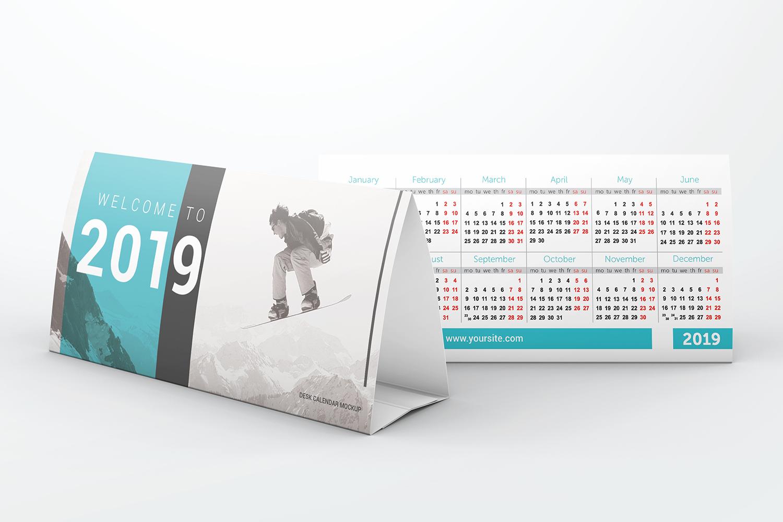 Desk Calendar Mockups example image 6