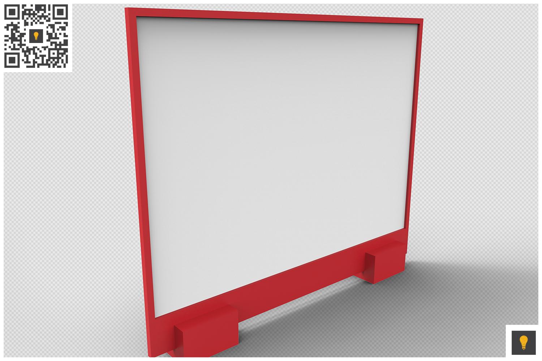 Flyer Display 3D Render example image 15