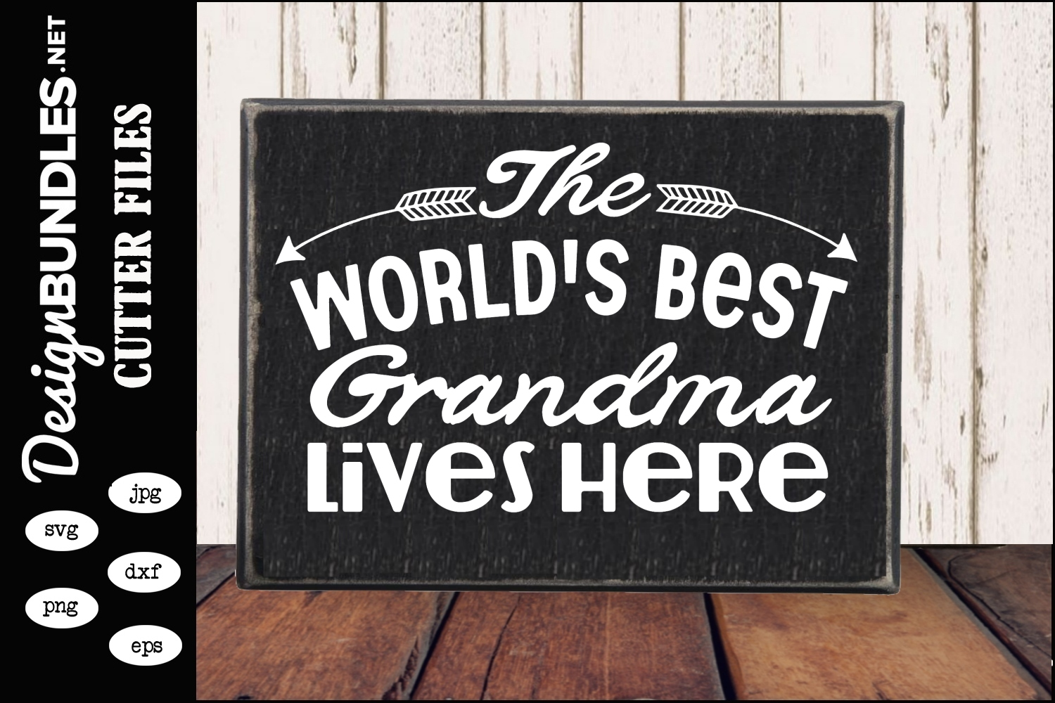 The Worlds Best Grandma SVG example image 1